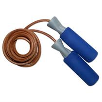 Soft Grip Leather Jump Rope
